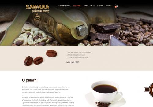 PALARNIA KAWY SAWARA