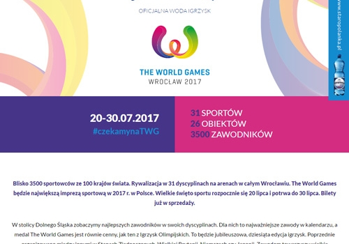 STAROPOLANKA (LANDING PAGE) – THE WORLD GAMES